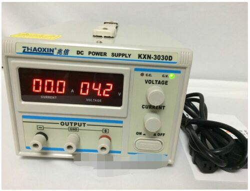 new KXN-3030D High-power Switching 0-30V,0-30A,900W Output 90 days warranty 80WU