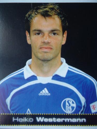 Panini 427 BL Fussball 2007//08 Heiko Westermann FC Schalke 04
