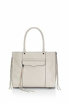 AUTH Rebecca Minkoff Purse Leather Side Zip Medium MAB Shoulder tote Bag