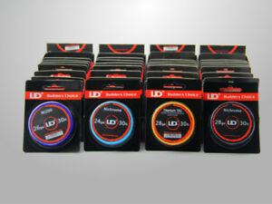 Youde-UD-SS316L-Ka-A1-NiCr-Clapton-5-10m-Wire-Wickeldraht-Selbstwickler-Coil