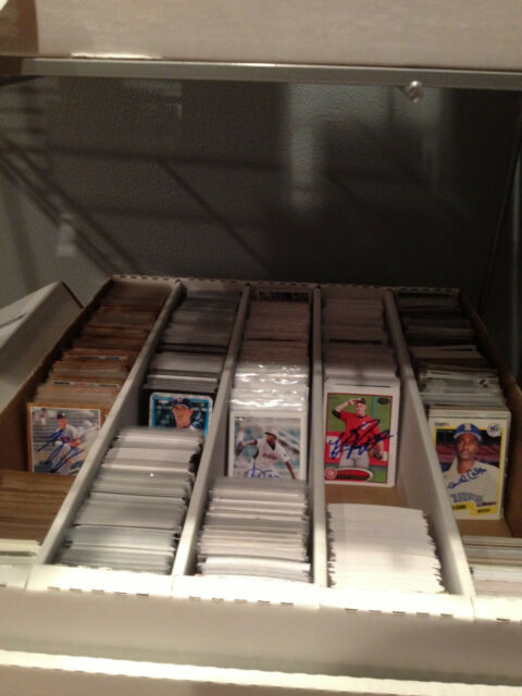 Lot 100 Assorted Signed Baseball Cards Autographs Collection From My Cheap