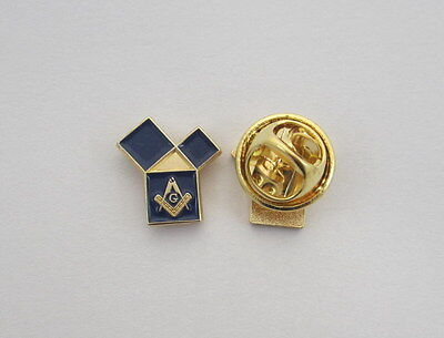 The 47th Problem of Euclid Past Master Tiny Freemasonry Masonic Pin Badge