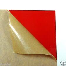 Acrylic Plexigrass Plastic Sheet Transparent Red A4 size 2.5mm