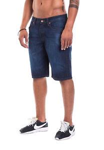 94a7828d633d36 Rocawear Men's Shorts Baggy Shorts Fit R00J9969ES mid Blue 855   eBay