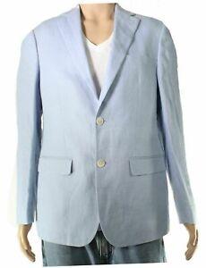 Lauren by Ralph Lauren Mens Blazer Light Blue USA Size 44 S UltraFlex $295- 237