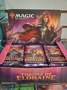 MAGIC THE GATHERING   WAR OF THE SPARK   5 PACK LOT   MTG   NEW   FACTORY SEALED