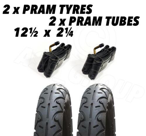 """2 x landau pneus /& 2 x tubes 12 1//2 x 2 1//4 /""""Phil /& Teds Explorer Sport Classique E3"""