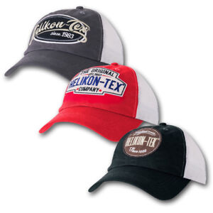 HELIKON-TRUCKER-LOGO-BASEBALL-STYLE-CAP-ADJUSTABLE-HAT-RETRO