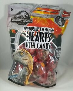 Jurassic World Valentines Day Candy Filled Hearts For Friendship Exchange (22)