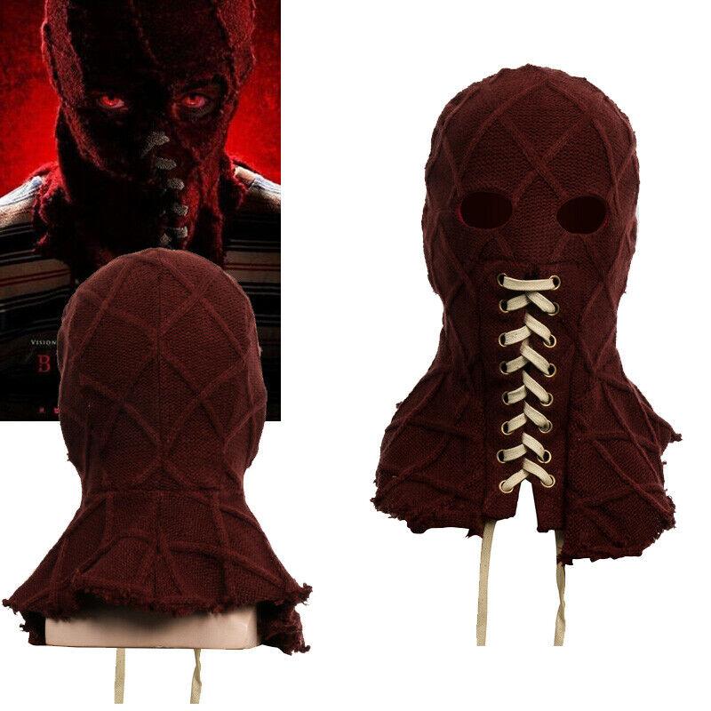 BrightBurn Red Cosplay Mask Costume Prop Horror Helmet Halloween Party Xcoser