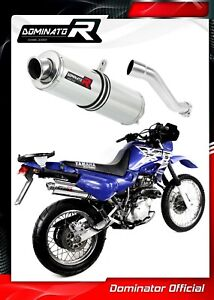 XT-600-Exhaust-ROUND-Dominator-Racing-silencer-muffler-1990-2004