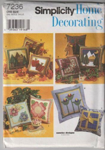 Many PILLOWS Home Decor Choose Your Pattern! UNCUT//Cut