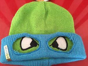874920214 Details about TMNT Winter Hat One Size Adult Reversible Teenage Mutant  Ninja Turtles Leonardo