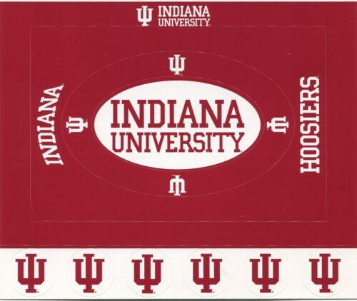 Indiana University Hoosiers Scrapbook Kit Stickers Paper U-CHOOSE 5 ITEMS