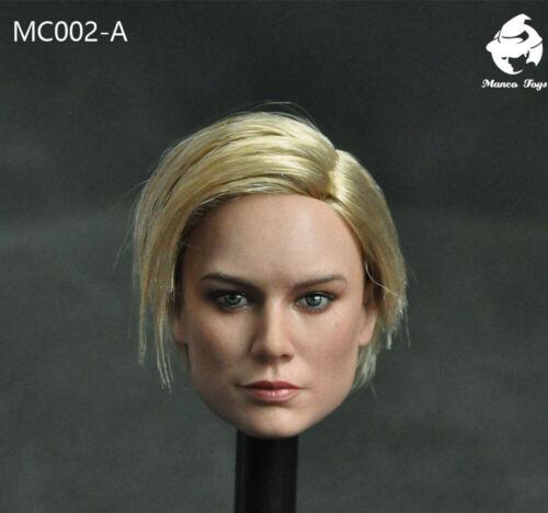 1//6 il Capitano Lady TESTA SCOLPIRE intagliato modello MANCO MC002 Toys PVC regalo in magazzino