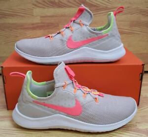 a8bc01c4a5250 Womens Nike Free TR 8 942888-004 Desert Sand Hot Punch Brand New ...