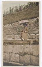 OLD PHOTO COLORED COLORISÉE Japon Japan VERS Vers 1920 1930 Femme Rehaussée