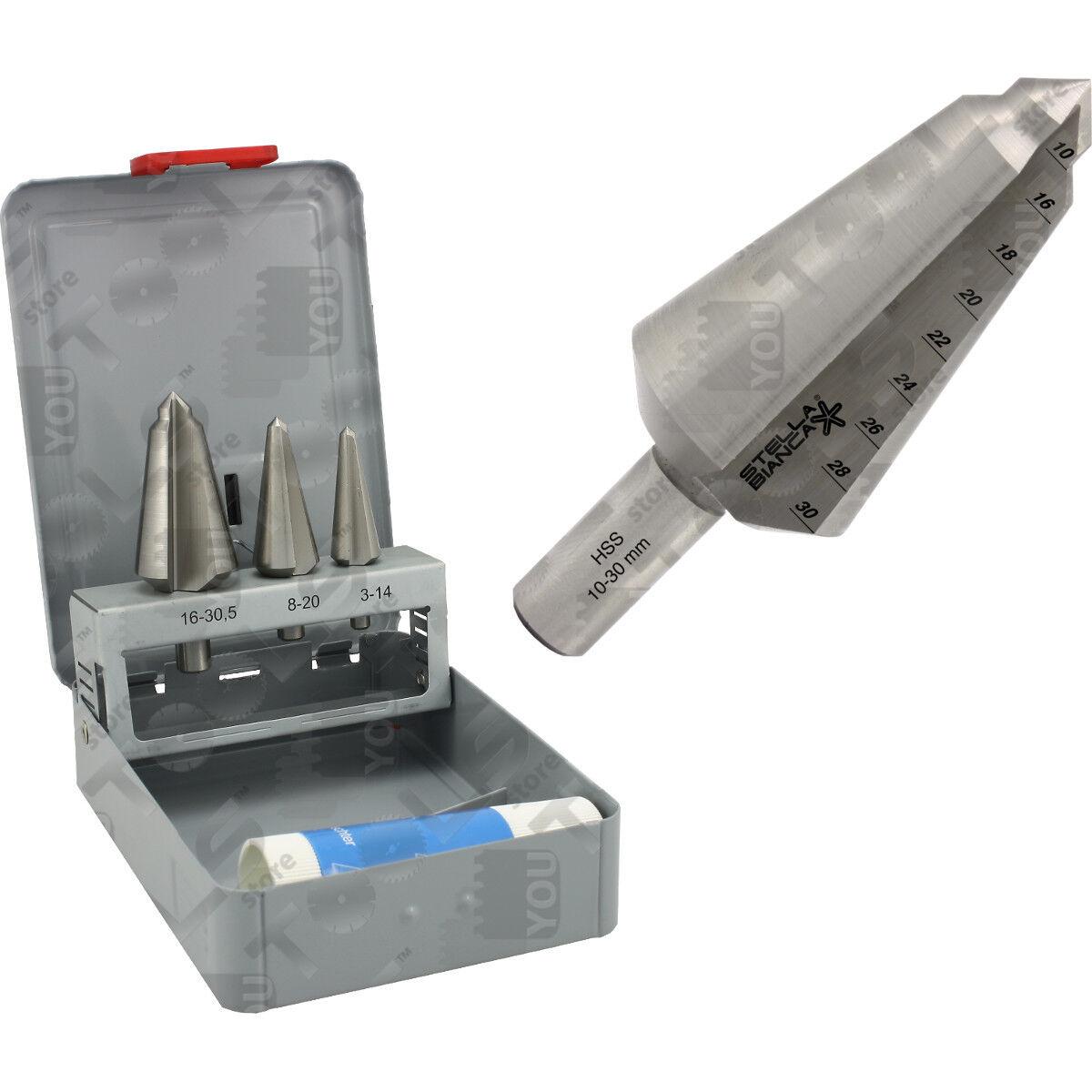 Allargafori tradizionali - per allargare fori su metallo, ferro, inox, acciaio