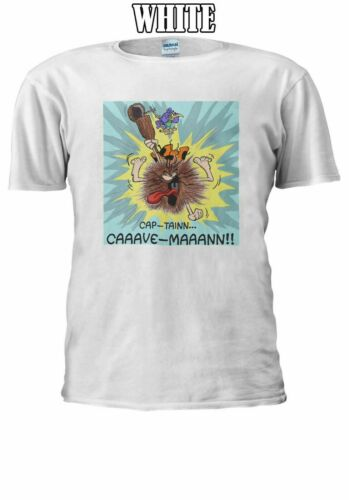 Captain Caveman Men Women Unisex T Shirt T-shirt Vest Baseball Hoodie 560