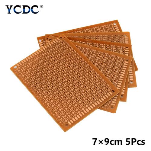 DIY Prototype PCB Universal Printed Circuit Board 5x7cm 7x9cm 9x15cm 12x18cm 44