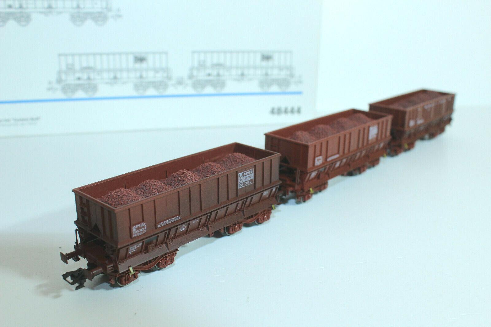 Marklin 48444 Set Erztransporter der SNCB - mit OVP