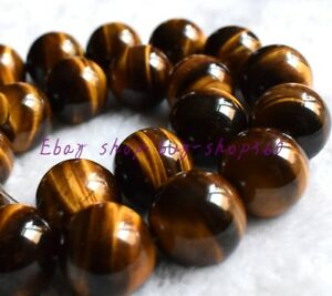 """Natural 6mm African Roar Tiger/'s Eye Round Loose Beads 15/"""" Strand"""