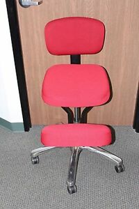 Image Is Loading Jobri Jazzy Kneeling Chair In Red