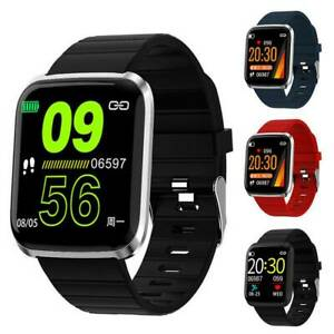 Fitness-Tracker-Smart-Wristband-Sport-Watch-Pedometer-Calorie-Heart-Rate-Monitor