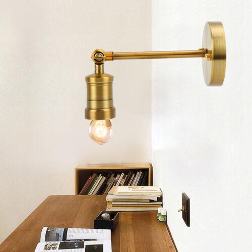 LED E27 Vintage Wandleuchte Wandlampe Antik Stil Eisen Dekorlampe Schlafzimmer