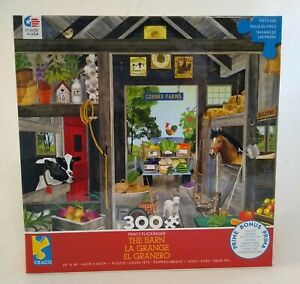 Ceaco 300 Piece Puzzle The Barn W/Poster Tracy Flickinger ...