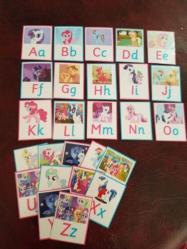 My Little Pony-Imparare l'Alfabeto/lettere-eyfs-SEN-VIGILATRICE d'infanzia