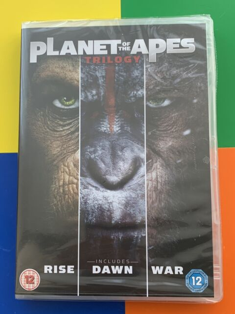 Planet of the Apes Triple (1-3) [DVD] [2017] New Sealed UK Region 2 🌹