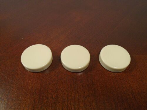 """Vintage Backgammon Replacement Pieces 1 1//8/"""" Brown /& White//Cream You Pick"""