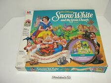 Snow White and the Seven Dwarfs Board Game COMPLETE Disney Milton Bradley 1992
