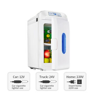 Frigorifero-per-Auto-Piu-Caldo-Mini-Frigo-Casa-Portatile-Viaggio-28L-12-24-220V
