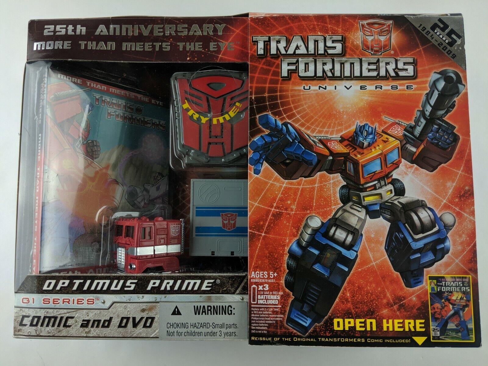 Hasbro Transformers  G1 Reissue 12  Optimus Prime 25th Anniversary Factory nuovo  prodotto di qualità