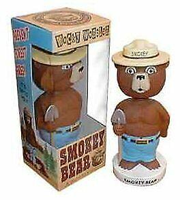 Funko Smokey Bear Wacky Wobbler Bobble Head Pop Culture