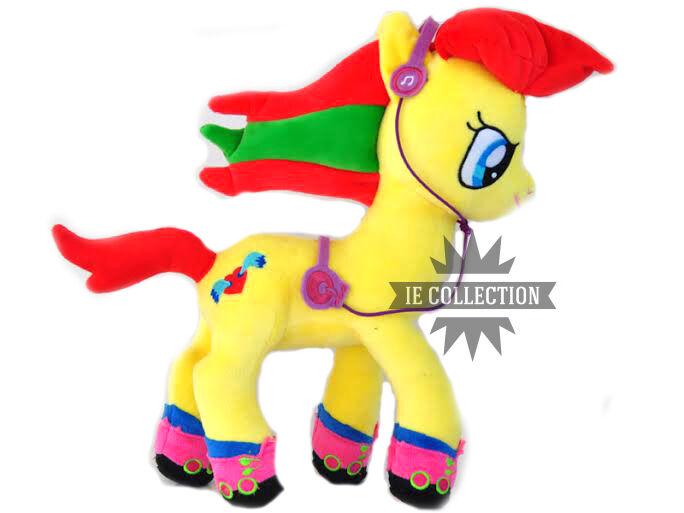MY LITTLE PONY JAZZIE SOFT TOY 32 CM SNOWMAN MLP celestia horse g1 plush doll