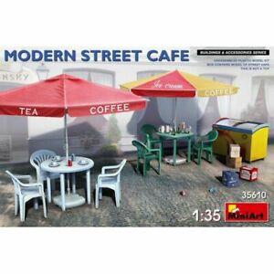 MIN35610-Miniart-1-35-Scale-Model-Kit-Modern-Street-Cafe