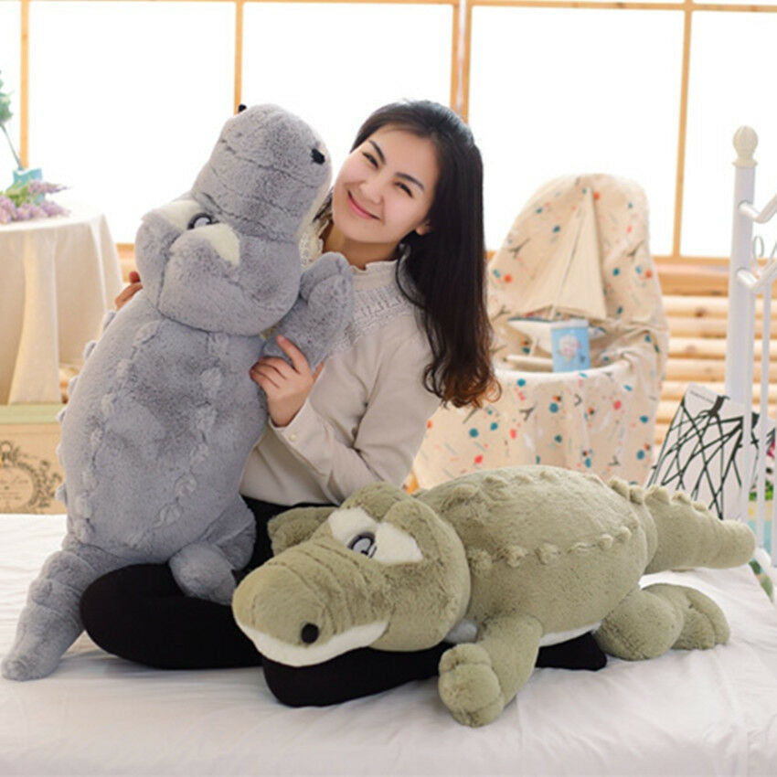 Crocodile Plush 140cm LARGE Kids Boys Bedroom Soft Stuffed Teddy Bear Alligator