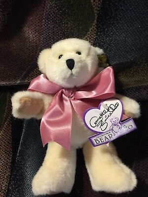 "Bears Aggressive Annette Funicello Mary Lou 9"" Plush Bear Nib"
