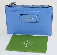New Kate Spade Adi Grove Street Leather Card Case/Holder Alice Blue LAST ONE!