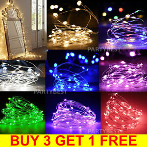 Battery-Fairy-String-Lights-Powered-Christmas-Party-Wedding-20-30-100-LED-2-10M