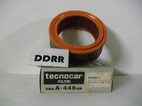 FILTRO ARIA RENAULT R 6 R8 R 10 TECNOCAR A-448