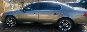 2007 Buick Lucerne black leather full loaded