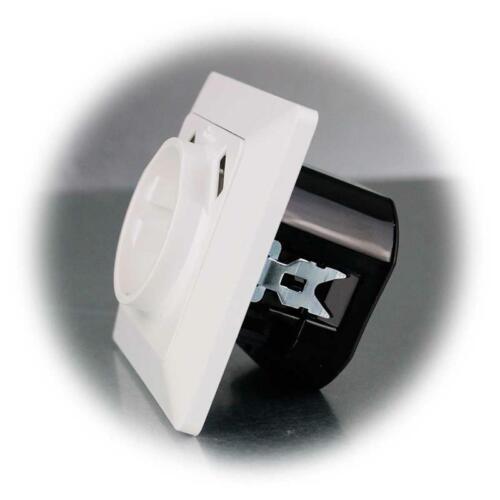Réservoir ladedose Up USB Chargeur Milos Prise de courant avec 2x USB 1 A blanc mat