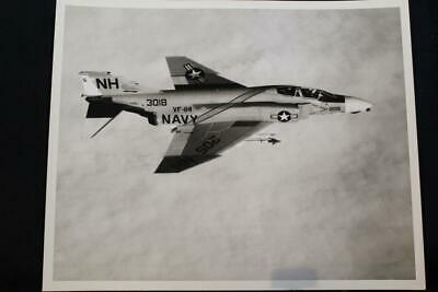 Fine Craftsmanship cv-63 F-4 Phantom 8' X 10' B & W Bright Military Ship Photo Uss Kitty Hawk p1262