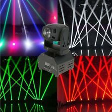 New Mini 10W DMX512 RGBW 4in1 Moving Head Light DJ Stage Disco Club Show Light