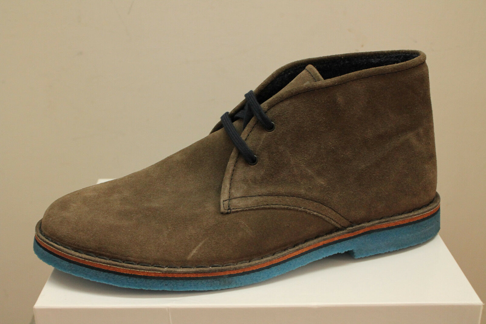 Polacchini scarponcini Frau 25H3 list fumo tipo Clarks Made in Italy list 25H3 €95 - 20% 73cd87