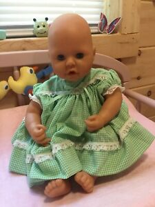 """2002 Baby Annabell Interactive 18"""" Doll by Zapf Creations ..."""